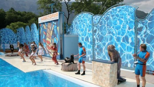 Экскурсия Театр морских животных  по Кореизу