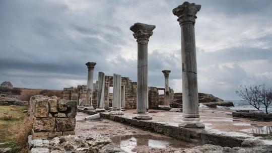 Севастополь, Херсонес, панорама  - фото 3