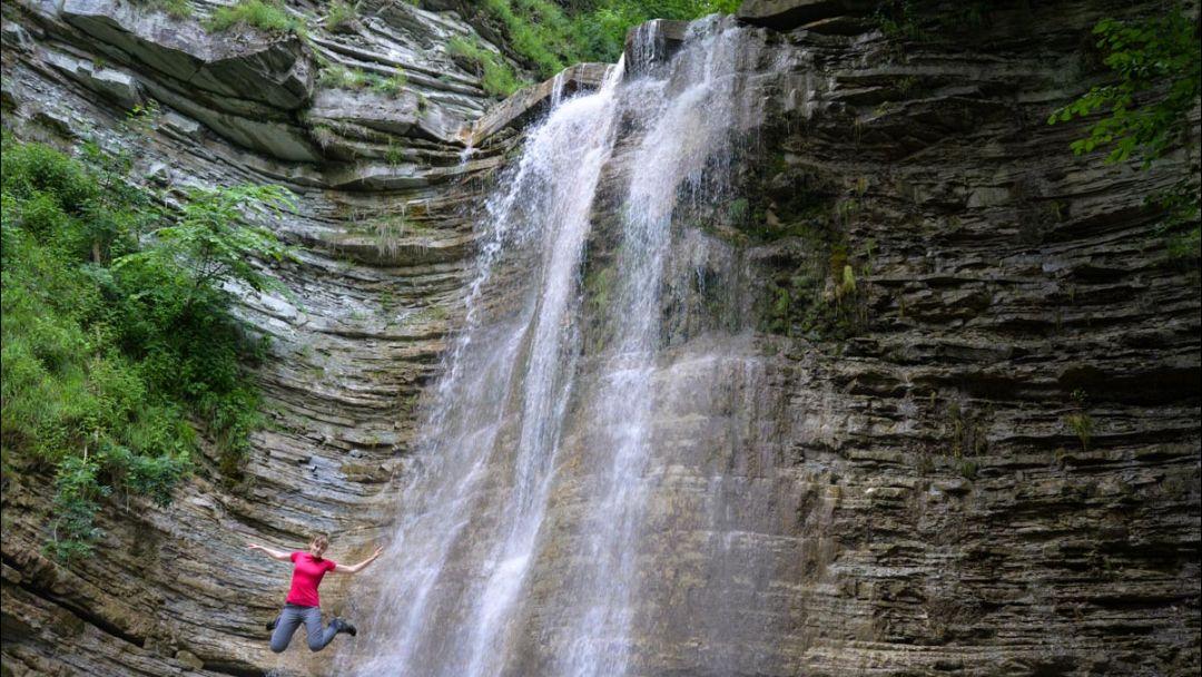Пшадские водопады  - фото 1