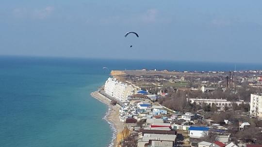 Экскурсия Полет на параплане в Каче по Северной стороне Севастополя