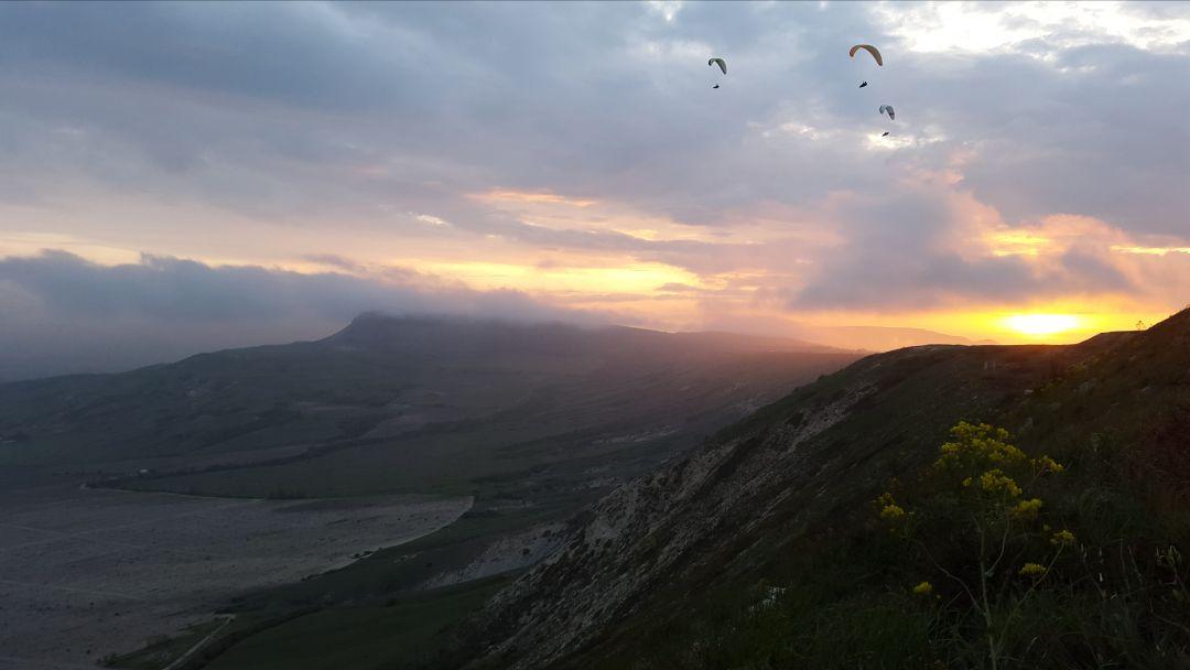 Полет на параплане на горе Клементьева   - фото 2