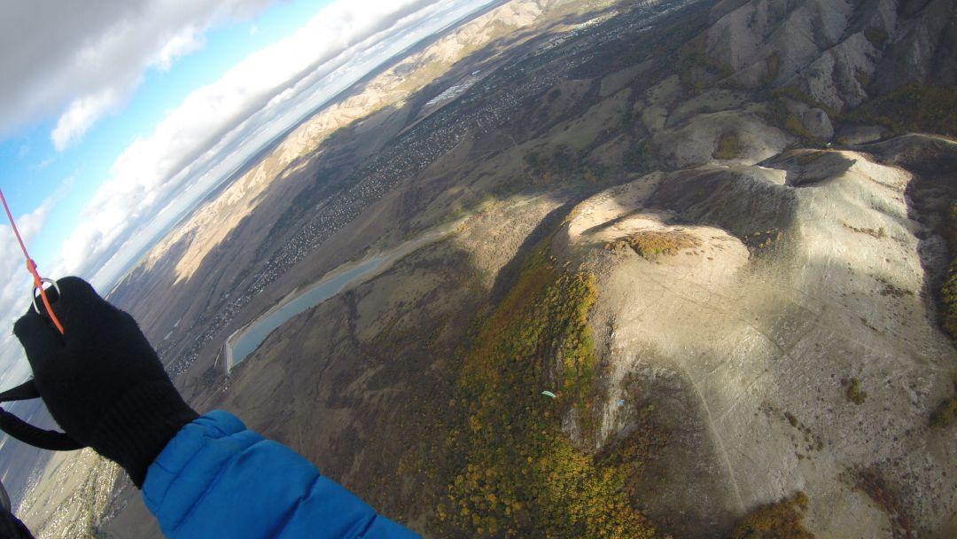 Полет на параплане на горе Тас-Тао (п. Заречное, Симферопольский район) - фото 1