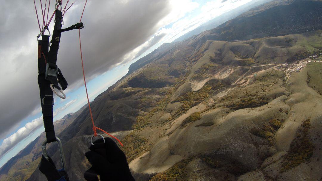 Полет на параплане на горе Тас-Тао (п. Заречное, Симферопольский район) - фото 2