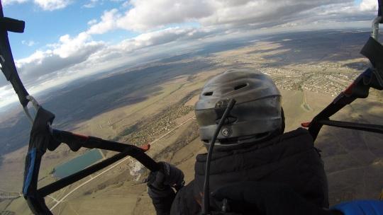 Полет на параплане на горе Тас-Тао (п. Заречное, Симферопольский район) - фото 3