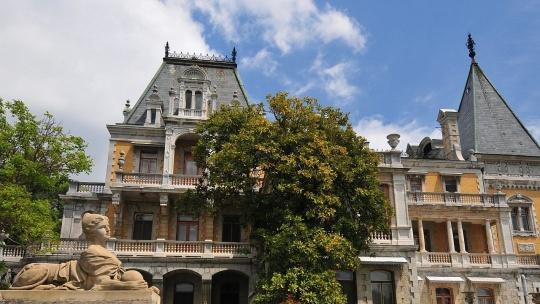 Экскурсия Императорские дворцы в Гурзуфе