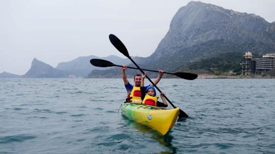 Экскурсия Каякинг Тур: Судак - мыс Алчак - мыс Меганом - Судак в Феодосии