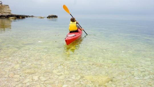 Экскурсия Морской каякинг Голубая бухта - Балаклава по Севастополю