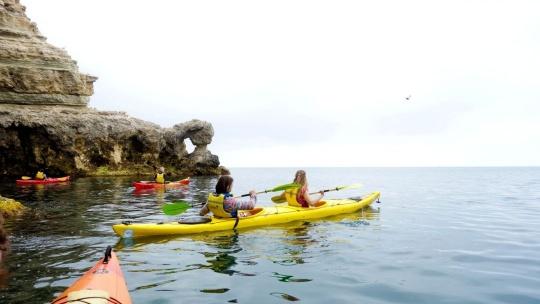 Морской каякинг Голубая бухта - Балаклава - фото 4