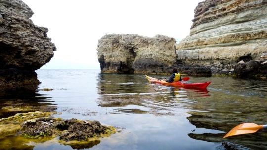 Морской каякинг Голубая бухта - Балаклава - фото 6