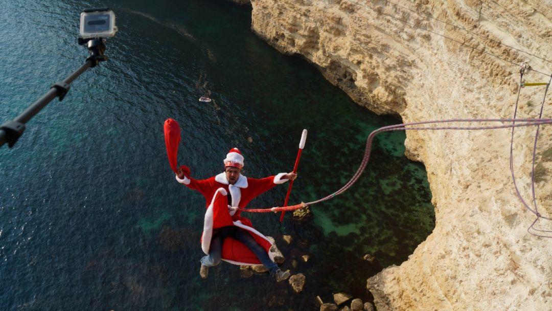 Прыжок на мысе Фиолент 62 метра - фото 1