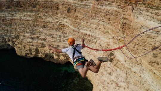 Прыжок на мысе Фиолент 62 метра - фото 2