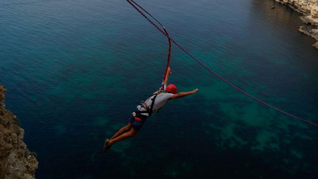 Прыжок на мысе Фиолент 62 метра - фото 4
