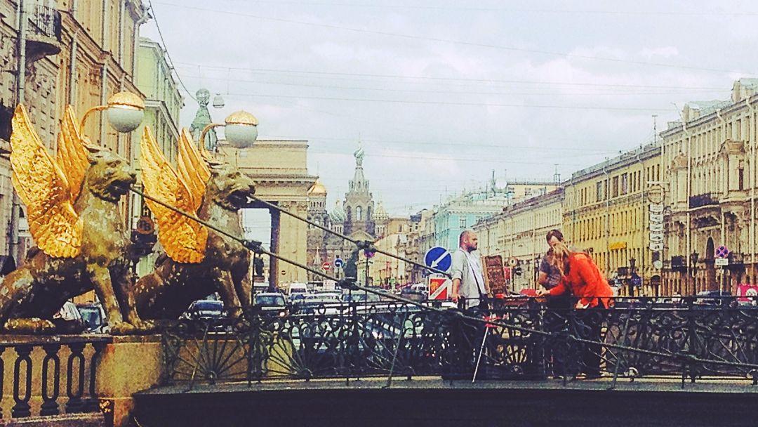 Невский проспект и  дядя Фади  - фото 3