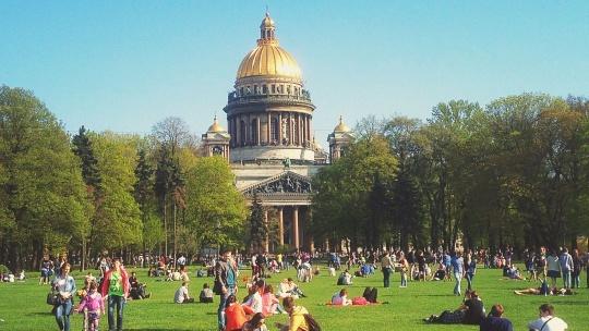 Экскурсия Большая прогулка по центру с частным гидом в Санкт-Петербурге