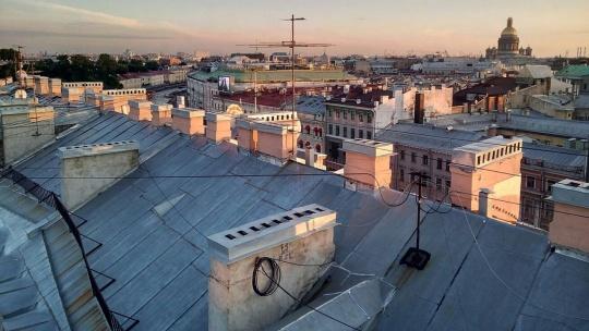 Экскурсия по крышам Петербурга - фото 3