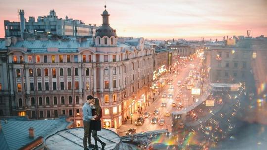 Экскурсия Экскурсия по крышам Петербурга в Санкт-Петербурге