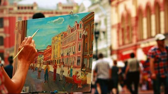 Экскурсия Ах, Арбат, мой Арбат... по Москве