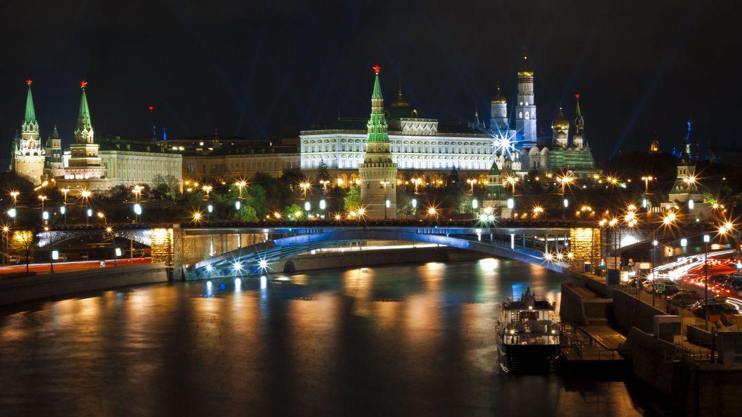 Экскурсия Огни Москвы: обзорная экскурсия по вечерней Москве