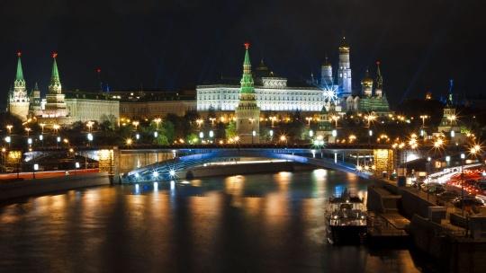 Экскурсия Огни Москвы: обзорная экскурсия по вечерней Москве по Москве