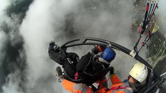 Полёт на паралёте над Крымскими горами и пещерными городами - фото 5