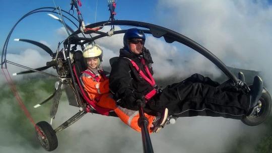 Полёт на паралёте над Крымскими горами и пещерными городами - фото 6