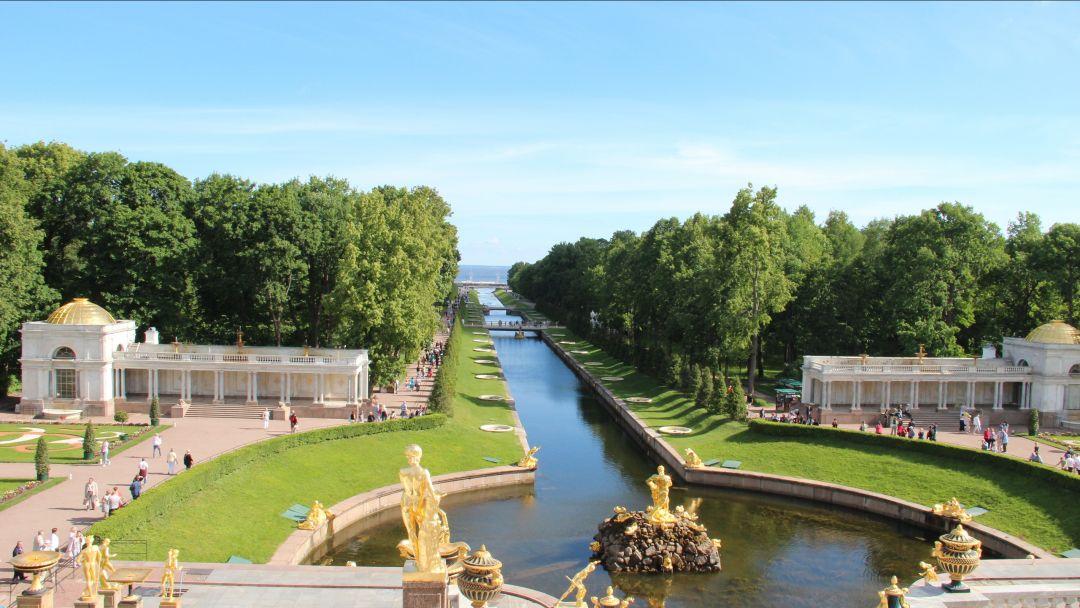 Экскурсия Петергоф (Большой дворец и фонтаны Нижнего парка)