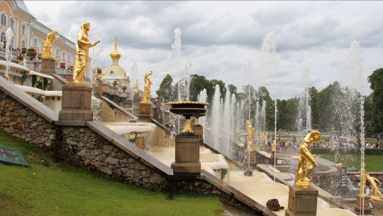 Петергоф Большой Дворец (вне сезона без фонтанов) - фото 2