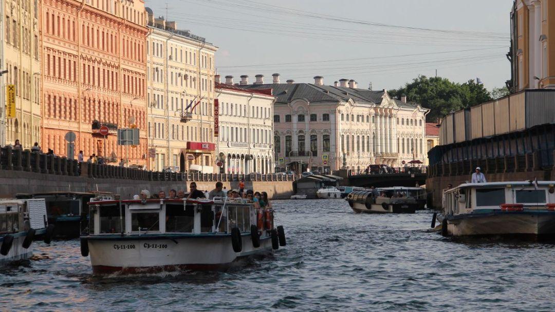 Экскурсия Дворцовая набережная: Морской Фасад