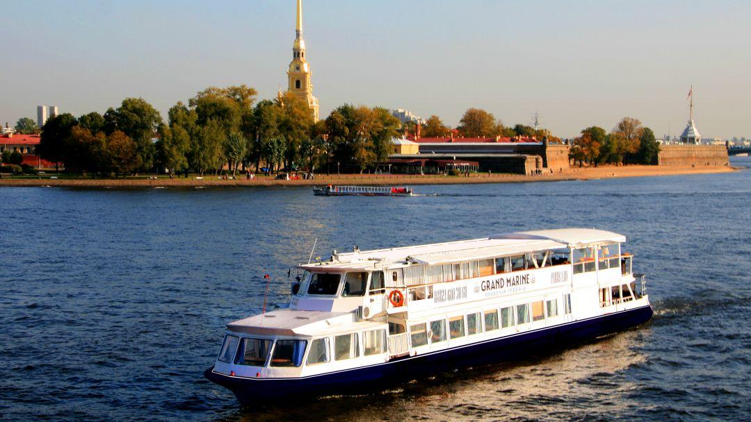 Экскурсия Дворцовая пристань: Музыка разводных мостов