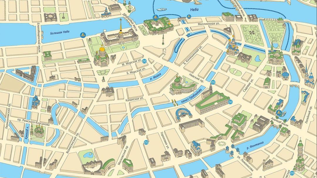 Дворцовая пристань: Каналы Северной Венеции - фото 3