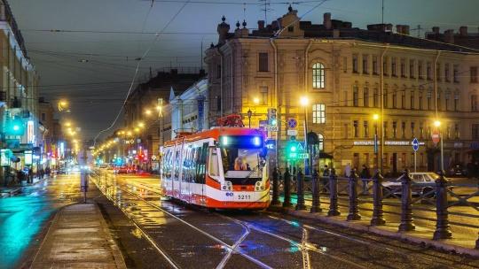 Экскурсия Экскурсии на общественных трамваях в Санкт-Петербурге