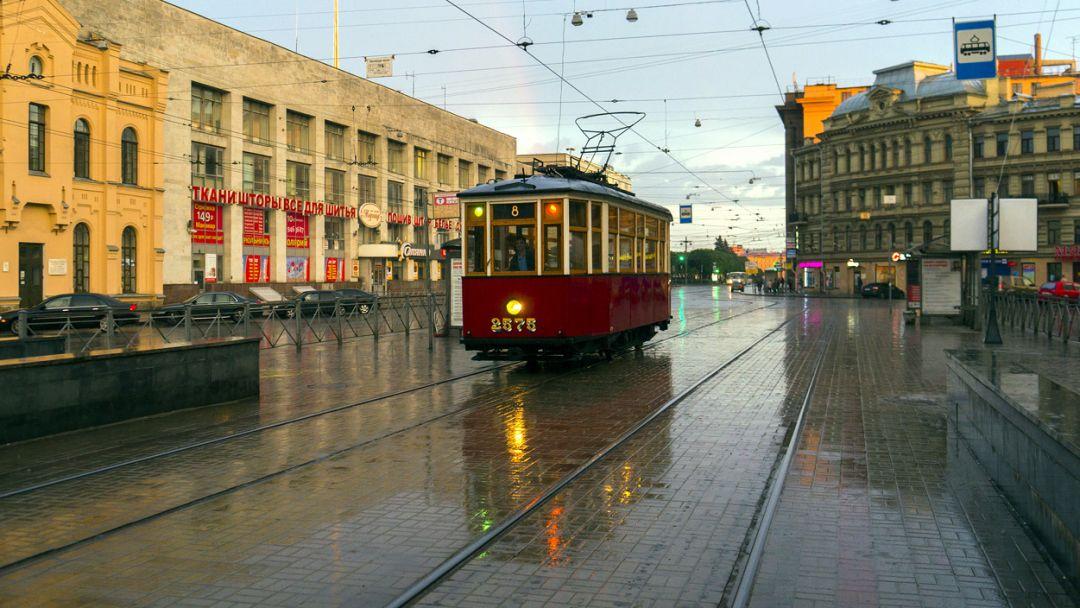 Экскурсии на общественных трамваях в Санкт-Петербурге