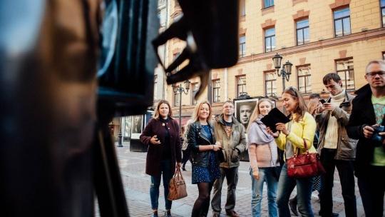 Экскурсия Пешеходная обзорная миксированная экскурсия по городу с частным гидом в Санкт-Петербурге