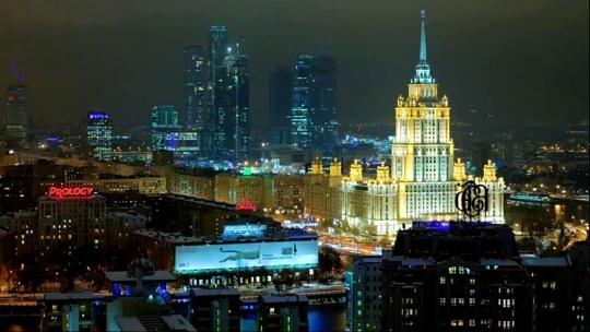Экскурсия Огни ночной Москвы по Москве