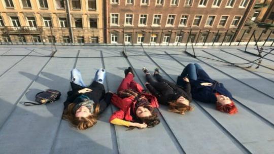 Экскурсия Прогулки по крышам в Санкт-Петербурге