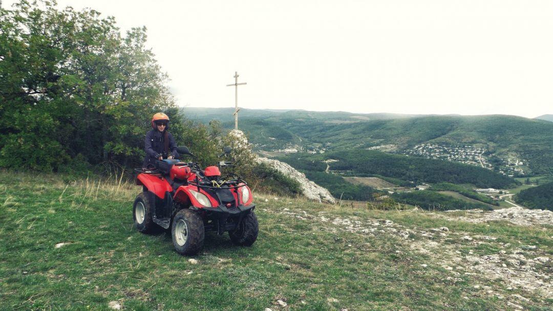 Квадроциклы: Пещерный город Эски - Кермен - фото 1
