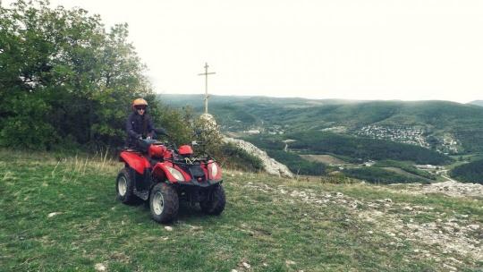 Экскурсия Квадроциклы: Пещерный город Эски - Кермен по Севастополю