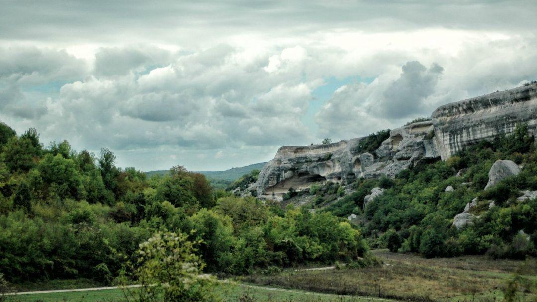 Конные прогулки, маршрут: Чернореченский каньон в Радиогорке