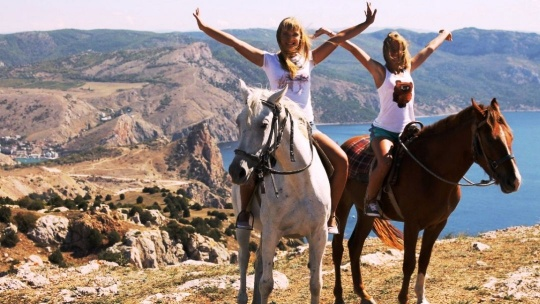 Экскурсия Конные прогулки, маршрут: Ай-Тодорская долина по Любимовке