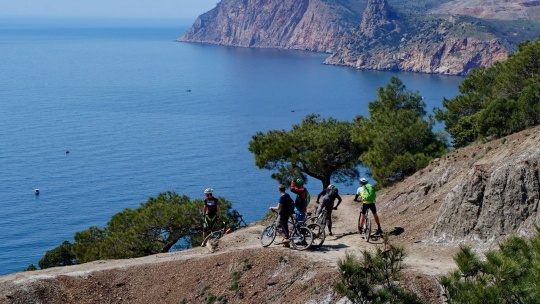 Экскурсия Велопрогулки: Чернореченский каньон по Севастополю