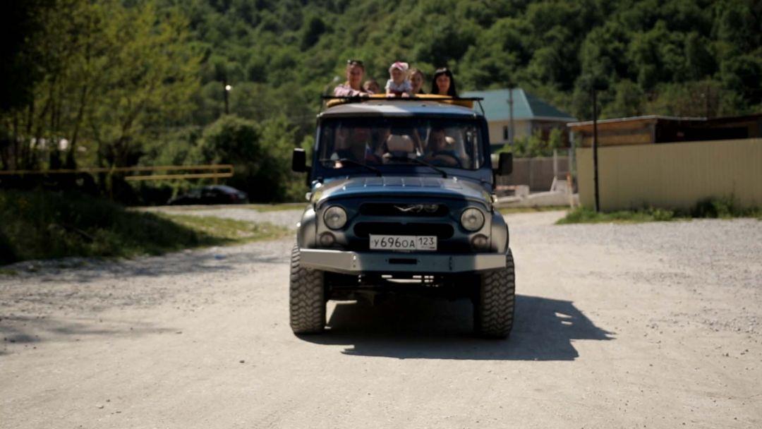 Экскурсия Джип тур: каскад водопадов