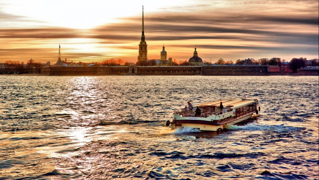 Экскурсия Поэтический Петербург или Стихи на воде