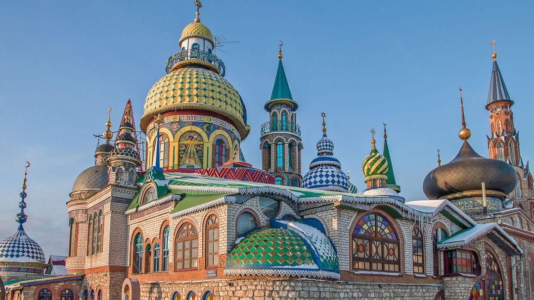 Экскурсия Раифский монастырь, Храм Всех Религий и Остров-град Свияжск