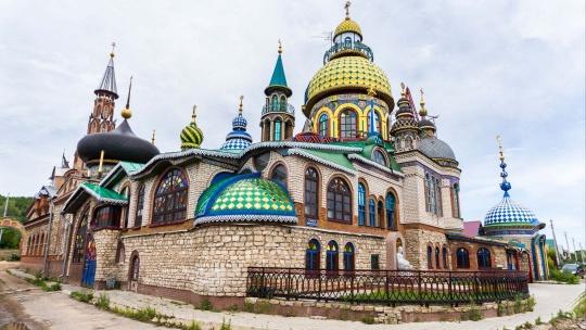 Экскурсия Храм Всех Религий и Раифский Богородицкий мужской монастырь по Казани