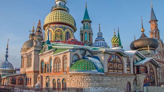 Храм Всех Религий и Раифский Богородицкий мужской монастырь - фото 2