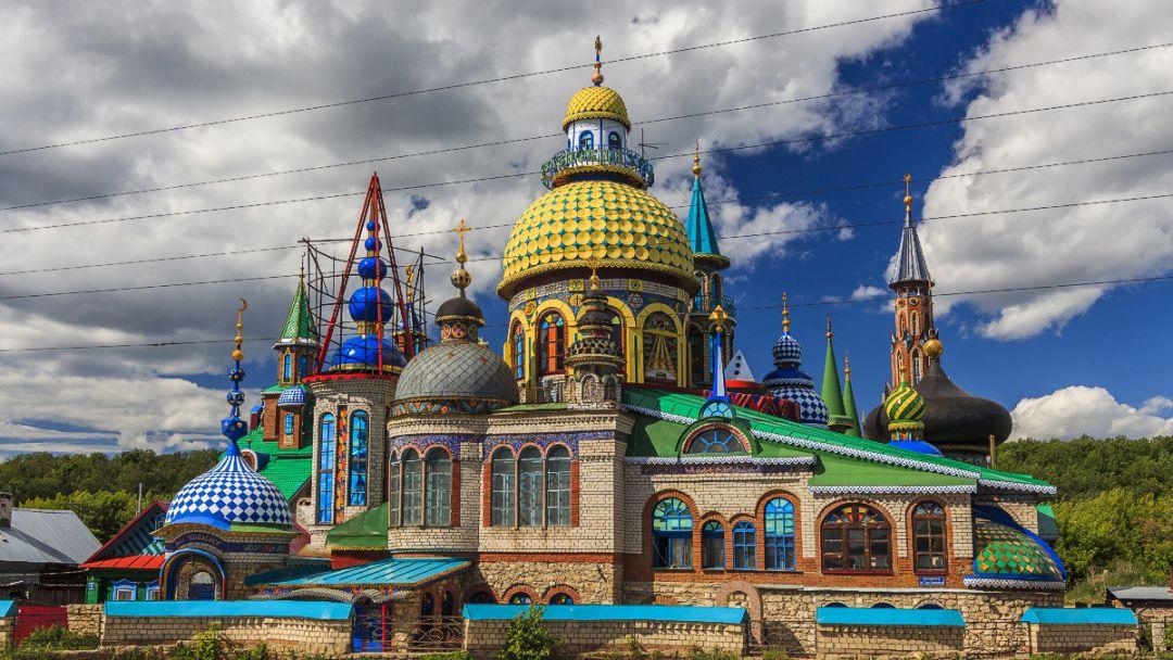 Храм Всех Религий и Раифский Богородицкий мужской монастырь - фото 3