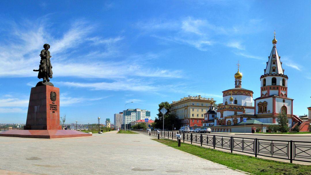 Экскурсия Иркутск в параллели веков (Пешая)