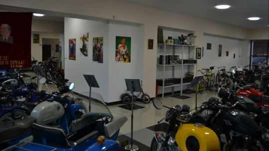 Экскурсия Музей ретромототехники в Иркутске