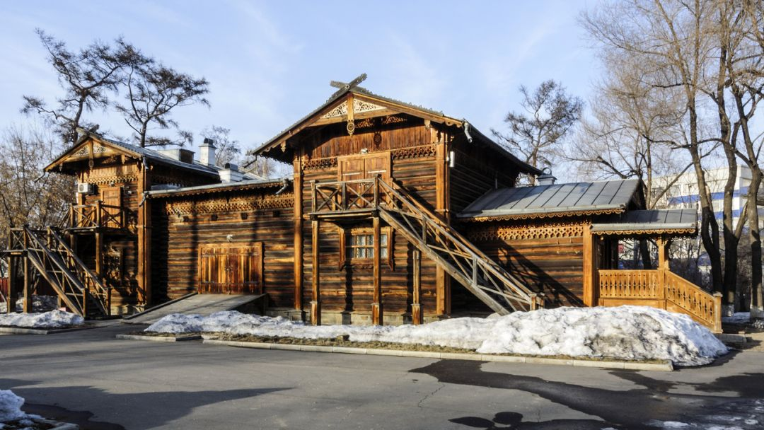 Музей-усадьба В.П.Сукачева в Иркутске