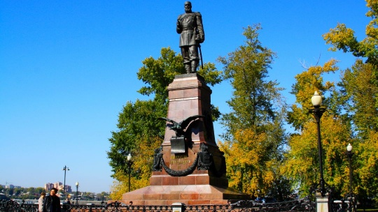 Александровский сад в Иркутске